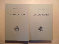 ROLLE Richard,Le chant d'amour (Melos amoris) (2 VOLUMES).